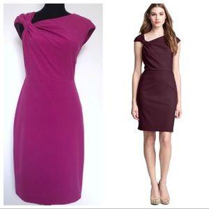 Ivy & Blue Maggy Raspberry Pink Sheath Dress New 8